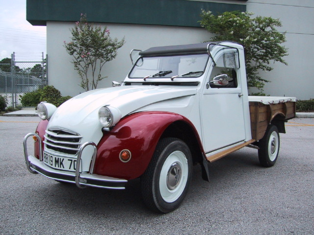citroen 2cv pick up. Black Bedroom Furniture Sets. Home Design Ideas